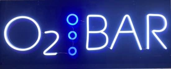 Neon Sign Oxygen Bar 110v