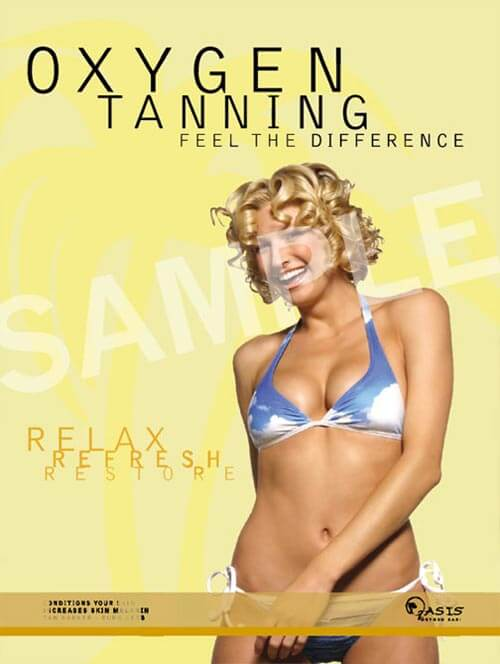 Oxygen Tanning Poster