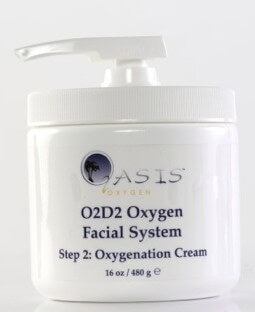 Oxygen Facial System  Step 2
